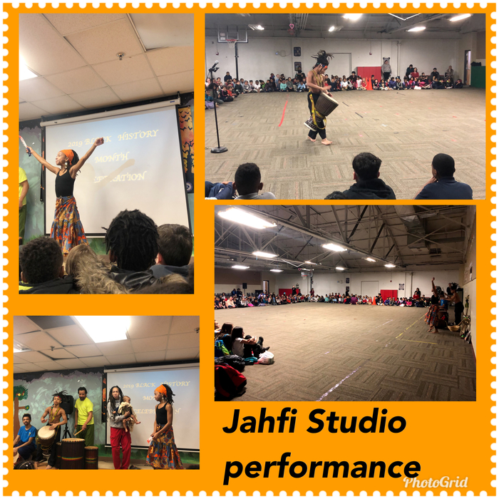 Jahfi studio drummed, sang and danced to the celebration of this month.