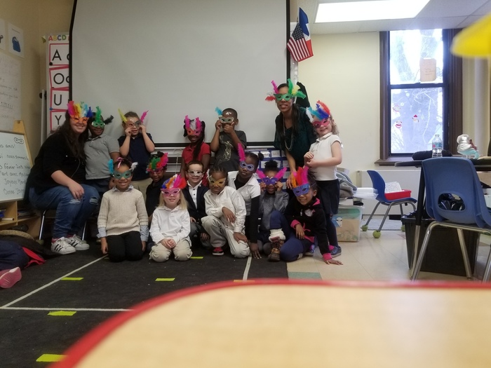 French Program KA knows how to Mardi Gras!